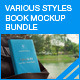 Various Styles Book Mock-up Bundle - GraphicRiver Item for Sale
