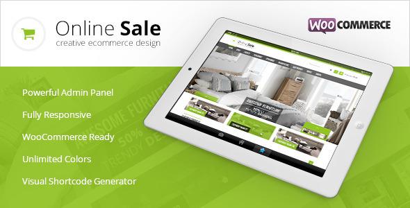 Online Sale - Responsive WooCommerce Theme - WooCommerce eCommerce