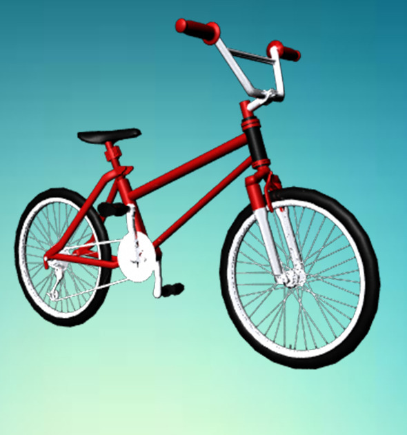 BMX Cycle - 3DOcean Item for Sale