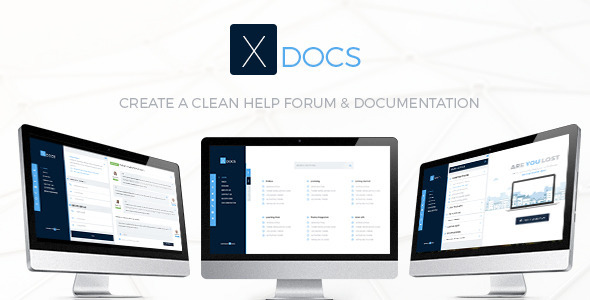 X Docs Knowlegebase & Documentation - PSD Templates