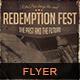 Redemption Fest Flyer Poster - GraphicRiver Item for Sale