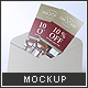 Buckslips Mock-up - GraphicRiver Item for Sale