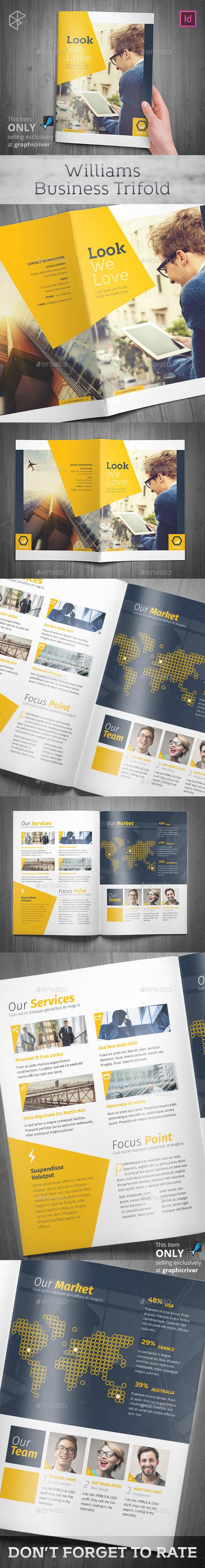 Williams Business Bifold - Corporate Brochures
