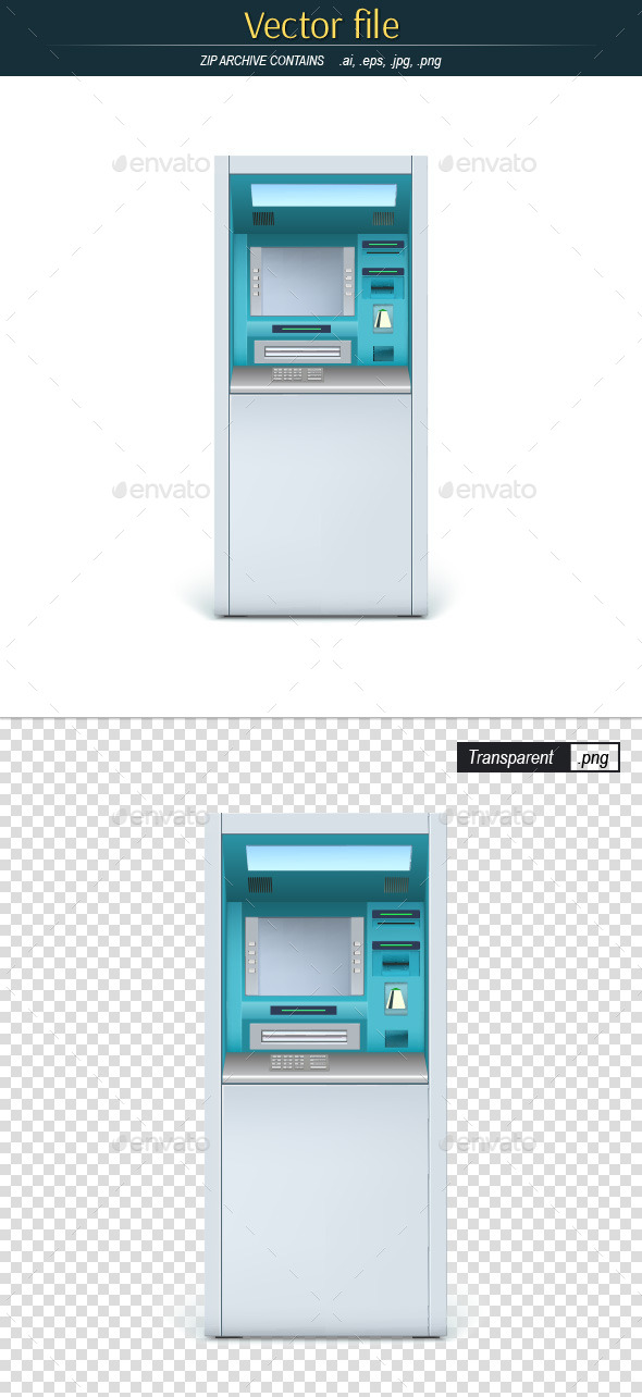 ATM Terminal - Man-made Objects Objects