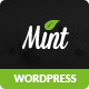 Mint - Responsive Multi-Purpose WordPress Theme Nulled