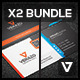Business Card Bundle 22 - GraphicRiver Item for Sale