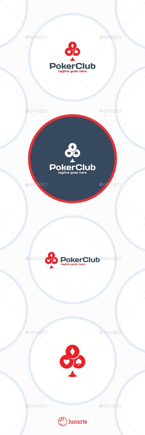 Poker Club Logo - Symbols Logo Templates