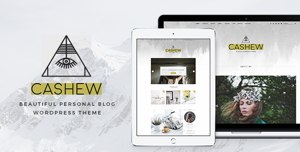 Cashew – A Personal Blog WordPress Theme