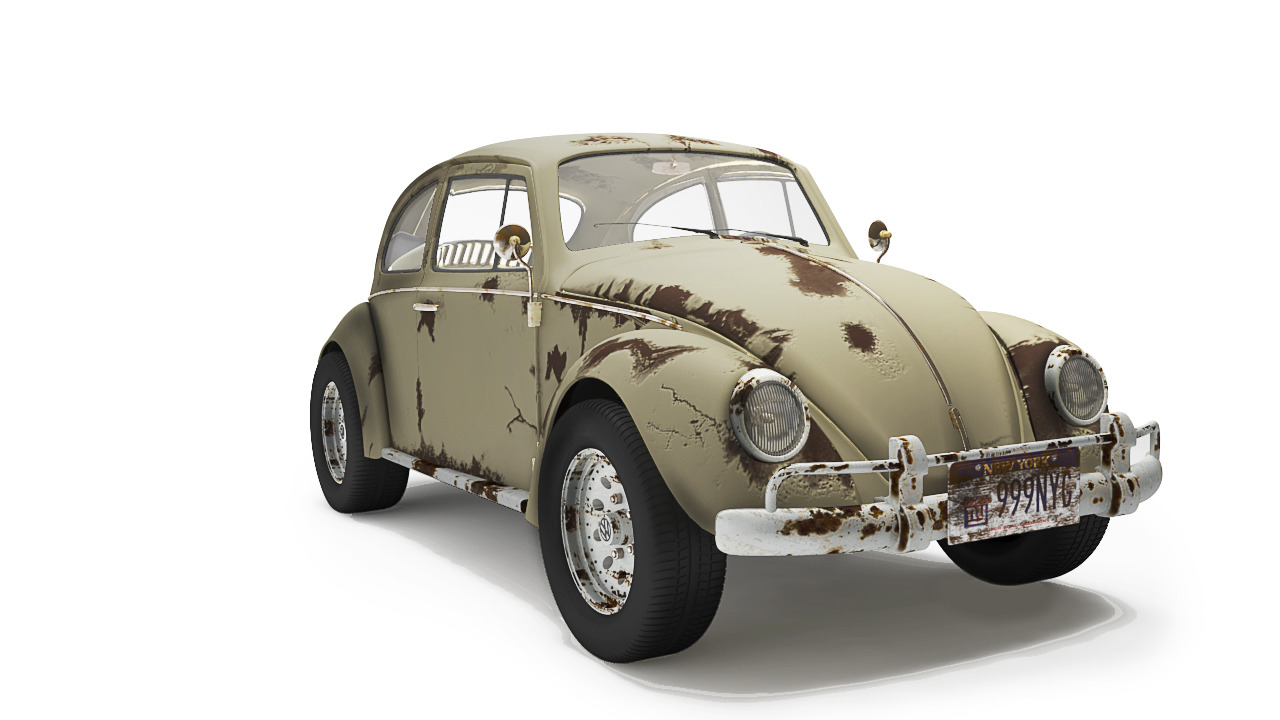 Volkswagen Bettle - Dirty