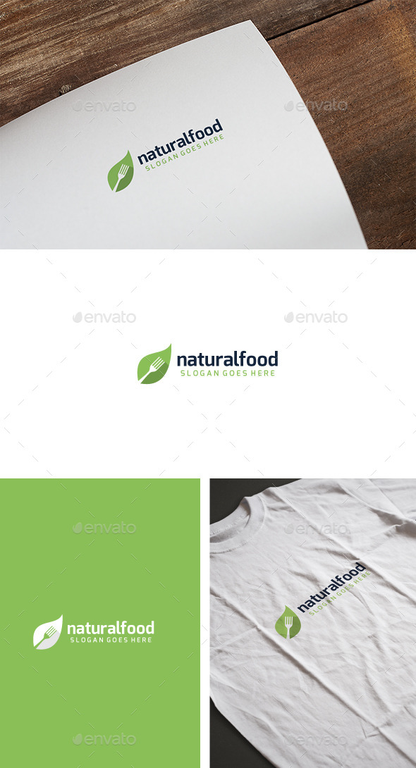 Natural Food Logo - Nature Logo Templates