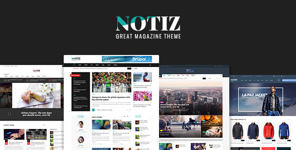Notiz Clean Magazine WordPress Theme Free Download