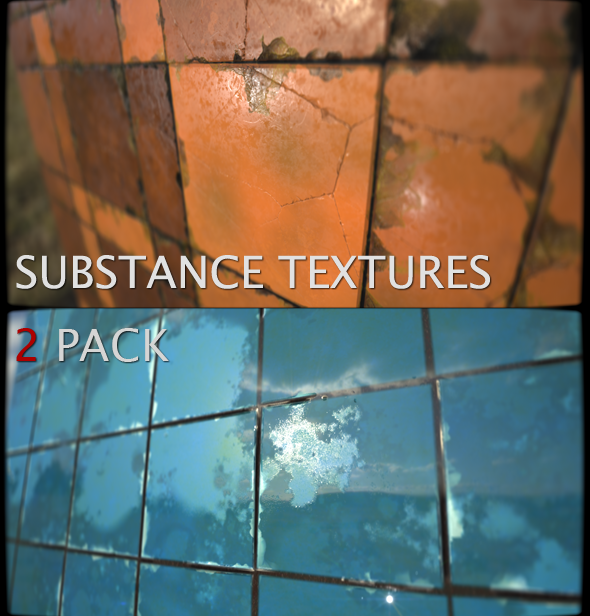 Substance Textures 2-Pack - 3DOcean Item for Sale