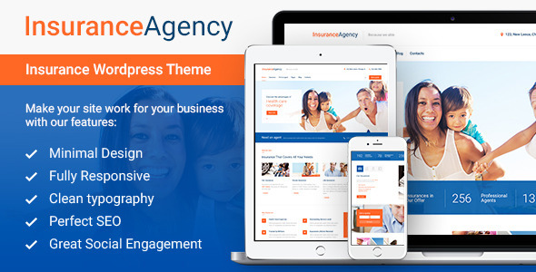 Insurance Agency – Business WordPress Theme