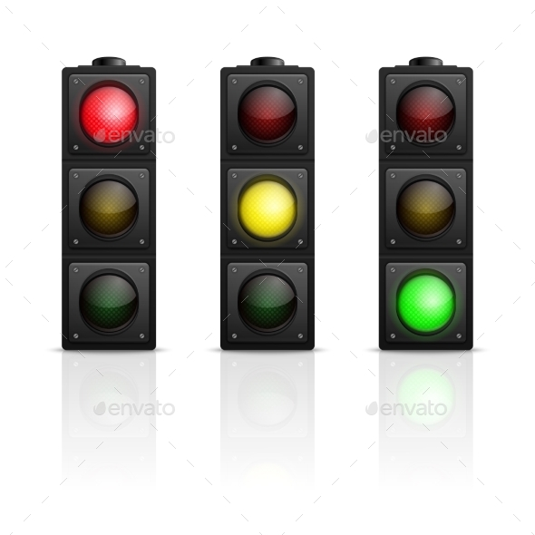 Traffic Lights - Man-made Objects Objects