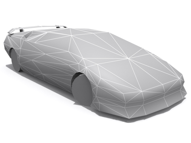 Lamborghini Diablo VT - Base - 3DOcean Item for Sale