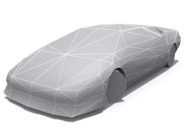Lamborghini Diablo - Base - 3DOcean Item for Sale