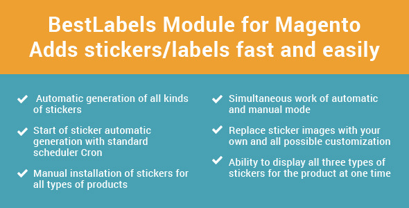 Product Label / Best Labels 1.1 - CodeCanyon Item for Sale