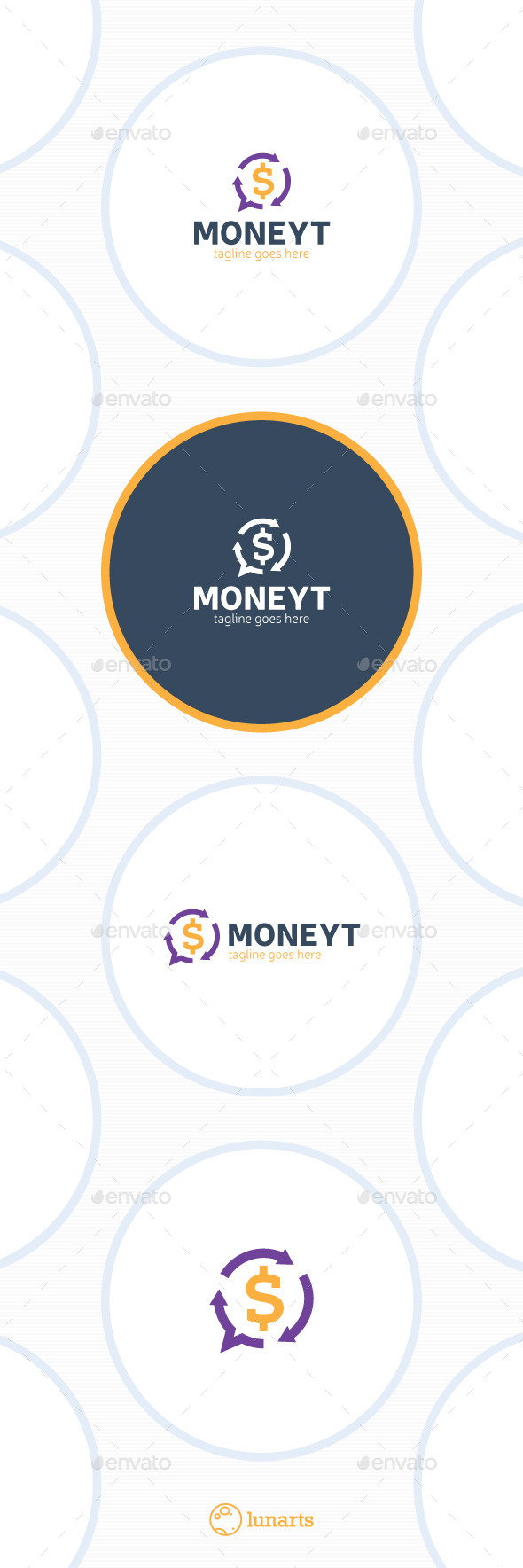 Exchange Chat Logo - Money Transfer - Symbols Logo Templates