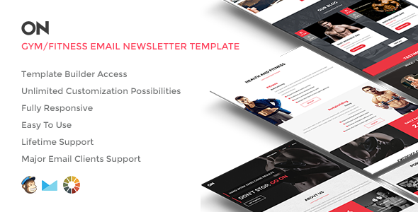 ON – Responsive Email w/Builder Access