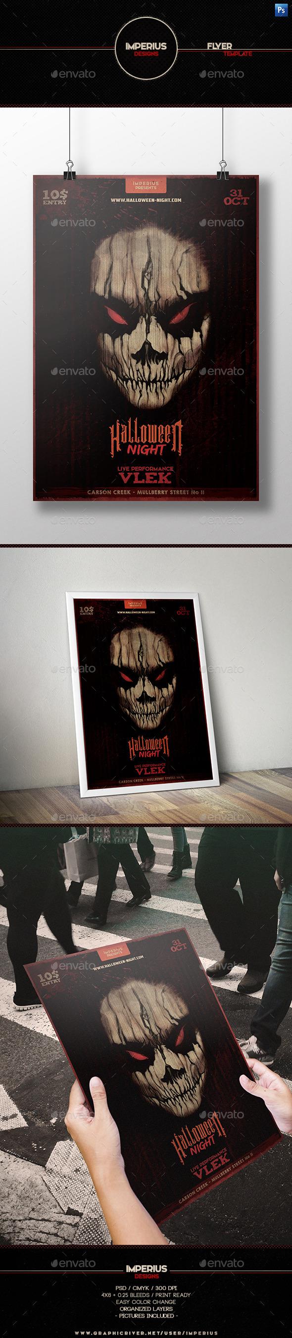 Halloween V5 Flyer - Holidays Events