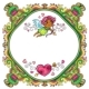 Valentine's Day cartoon floral frame - GraphicRiver Item for Sale