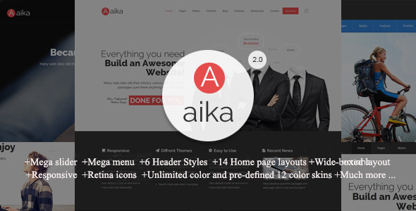 Image of Aaika - Multipurpose Drupal Theme