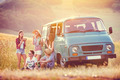 Young hipster friends on road trip - PhotoDune Item for Sale