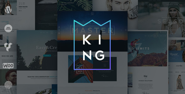 King – Responsive Multi-Purpose WordPress Theme