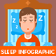 Sleep Infographic Kit - GraphicRiver Item for Sale