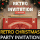 Retro Christmas Party Invitation - GraphicRiver Item for Sale