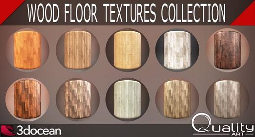 Wood Floor Plank Textures