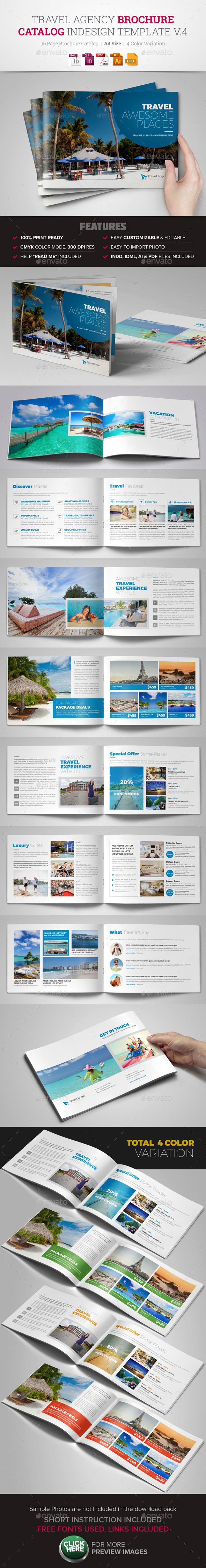 Travel Agency Brochure Catalog v4 - Corporate Brochures