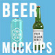 Beer Bottles & Can Product Mockups - GraphicRiver Item for Sale