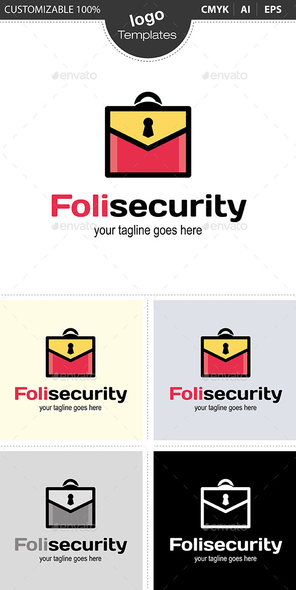 Folisecurity - Abstract Logo Templates
