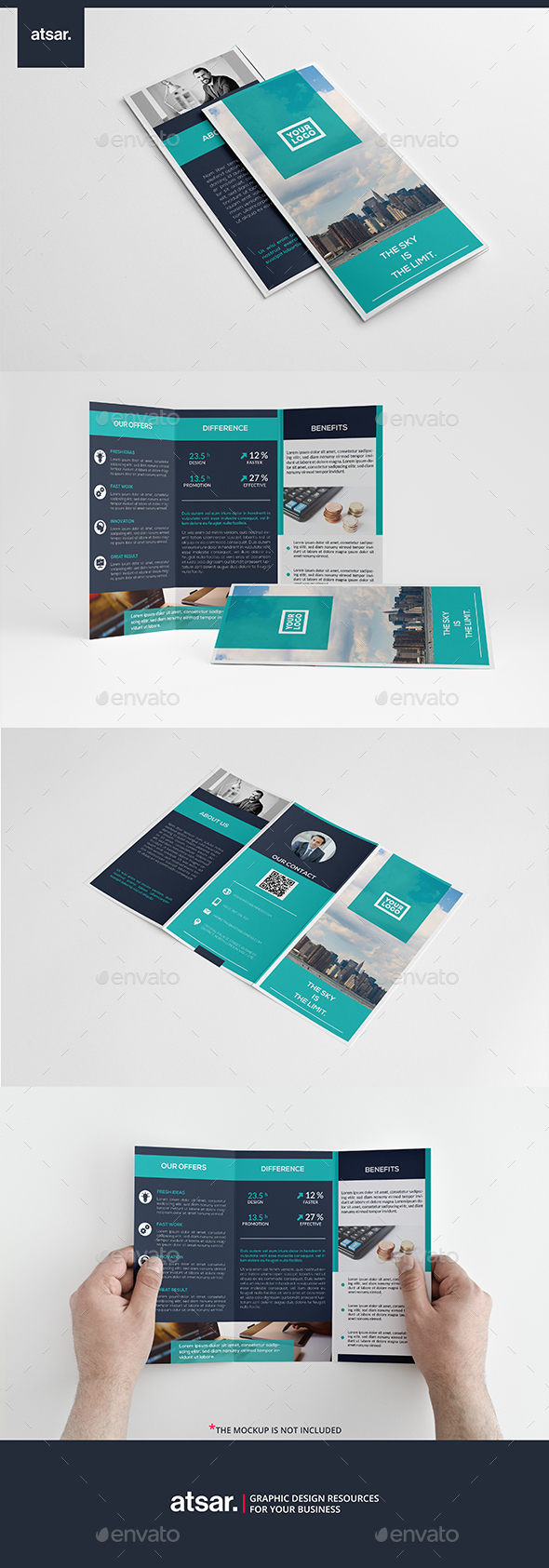 Blue Corporate Brochure - Corporate Brochures