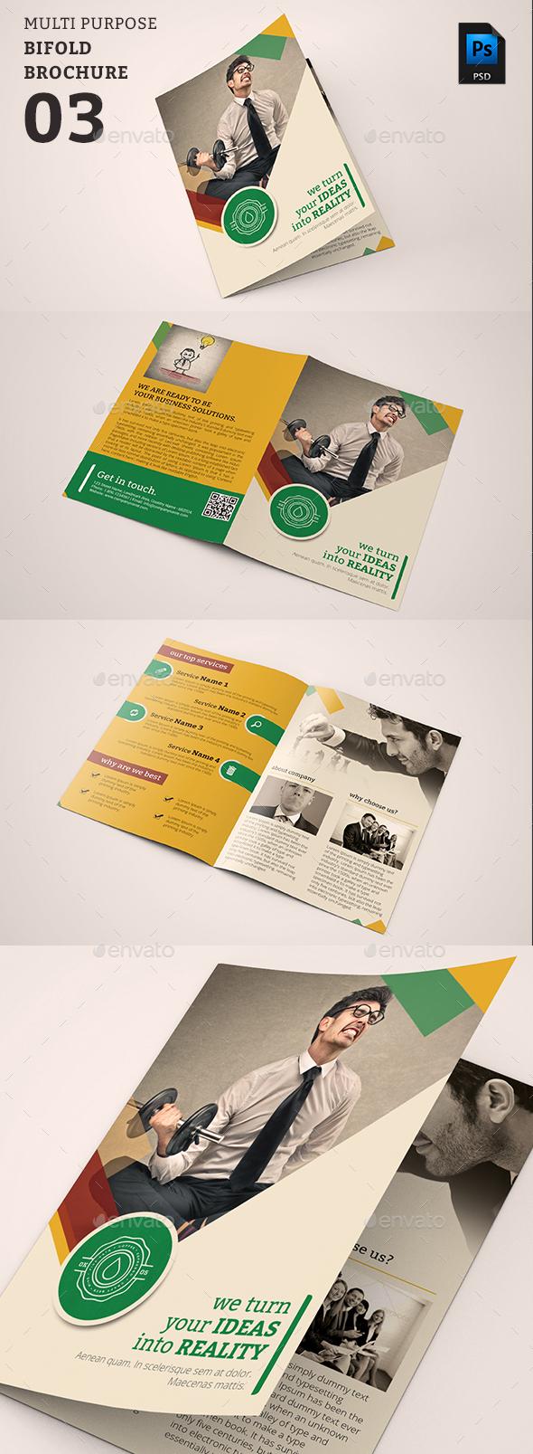 Bifold Brochure 03 - Corporate Brochures