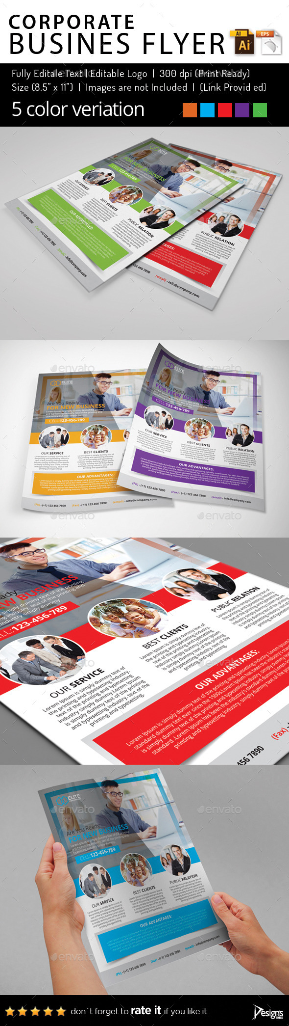 Multipurpose Business Flyer 77 - Flyers Print Templates