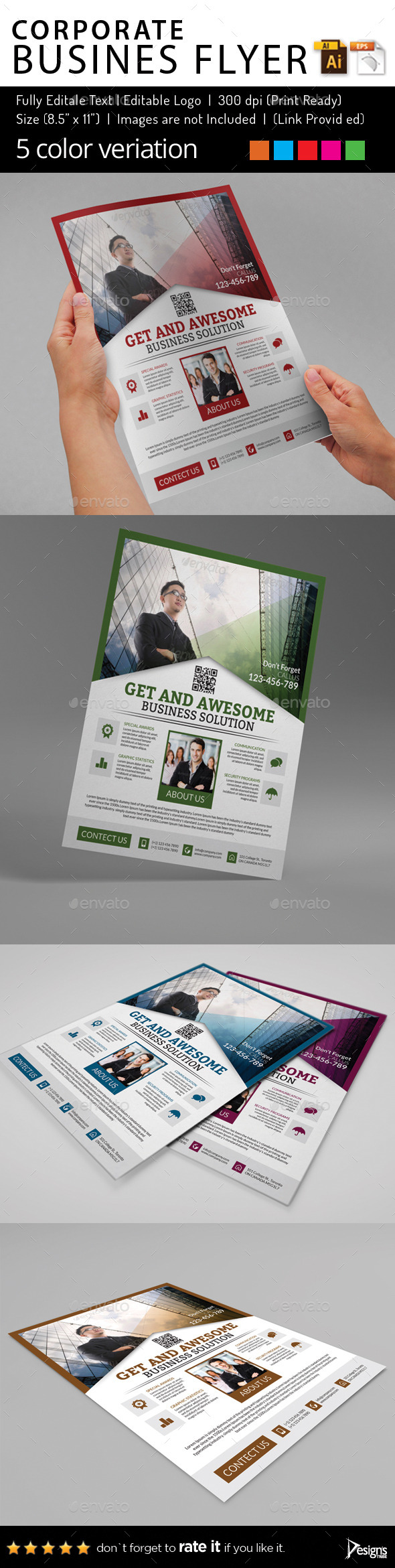 Multipurpose Business Flyer 78 - Corporate Flyers