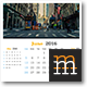 Wall Calendar 2016 - GraphicRiver Item for Sale