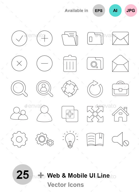 Web & Mobile I - Web Icons