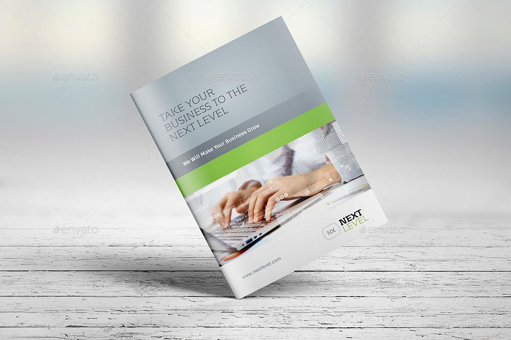 Photorealistic Brochure Mockup By Genetic GraphicRiver - Brochure mockup template
