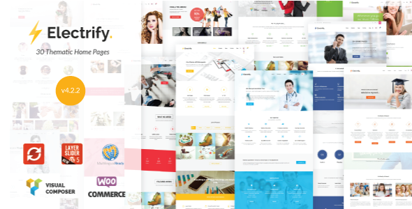 Electrify - Versatile WordPress Theme - Business Corporate