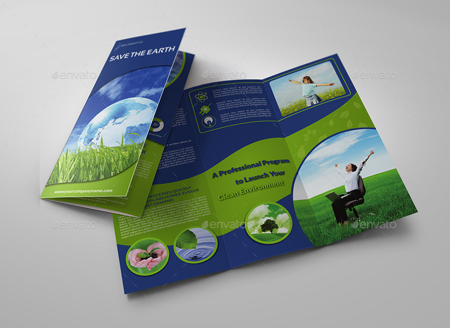 environment brochure template environment eco tri fold brochure template vol 2 by