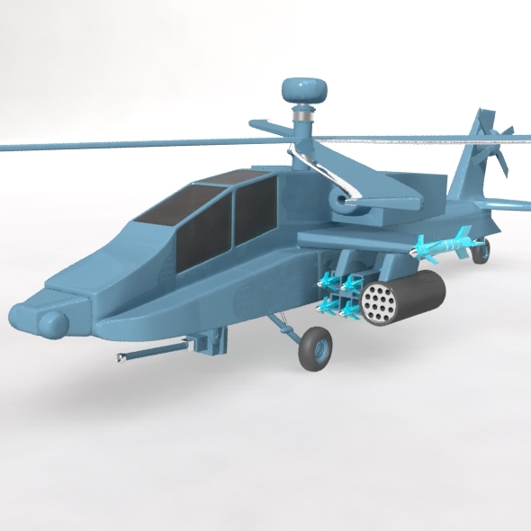 Attack Helicopter - 3DOcean Item for Sale