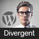 Divergent - Personal Vcard Resume WordPress Theme Nulled