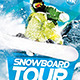 Snowboard Tour Flyer - GraphicRiver Item for Sale