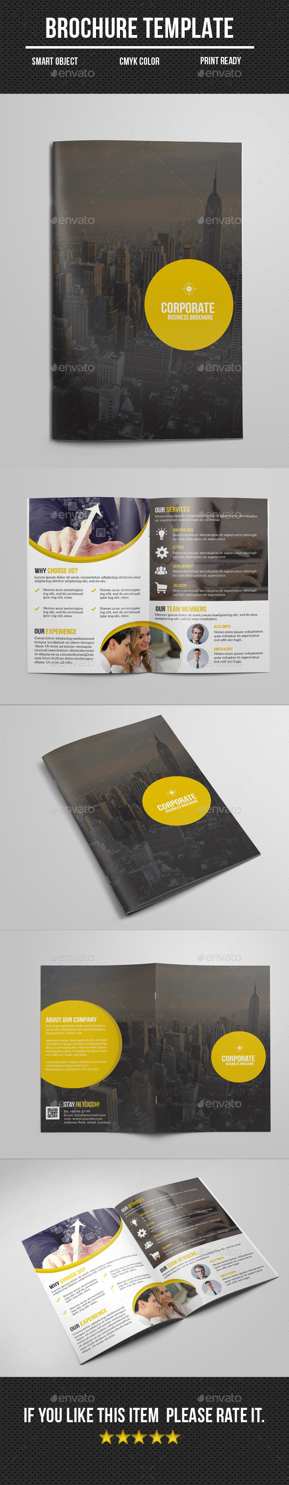 Bi- Fold Business Brochure - Corporate Brochures