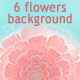 6HD Abstract Flowers Fractal Backgrounds - GraphicRiver Item for Sale