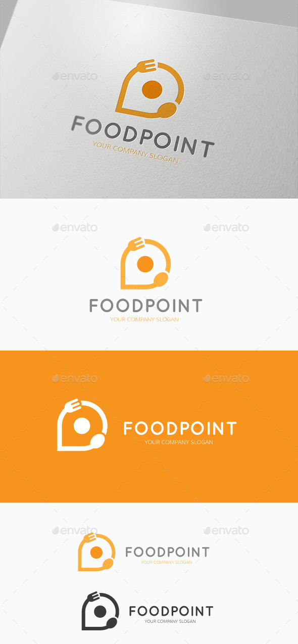 Food Point - Food Logo Templates