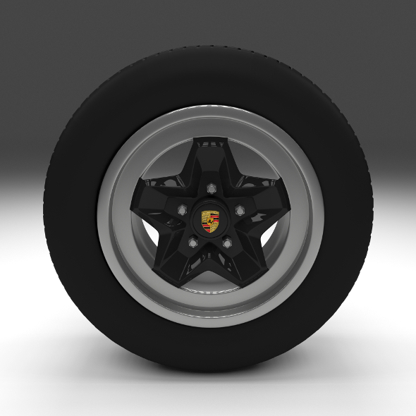 Porsche Wheel - 3DOcean Item for Sale